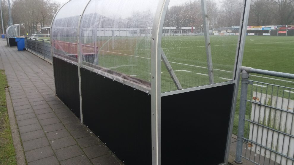 Dug out vv Zwanenburg