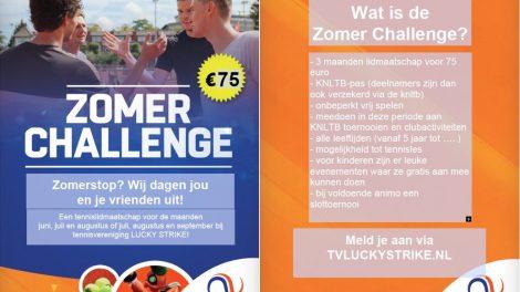 Zomer Challenge 2019 tv Lucky Strike